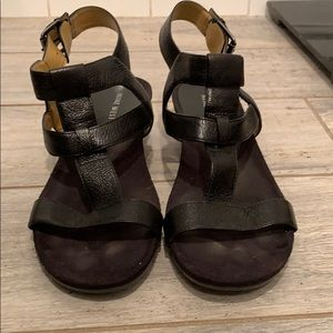 Nine West  black strappy sandal